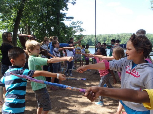 Harry Potter Day at Summer Camp! (c) 2013 Flickr user camppinewood