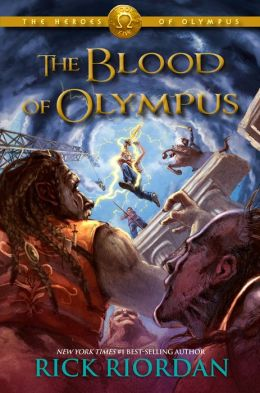 Blood of Olympus 260x420 Rick Riordan