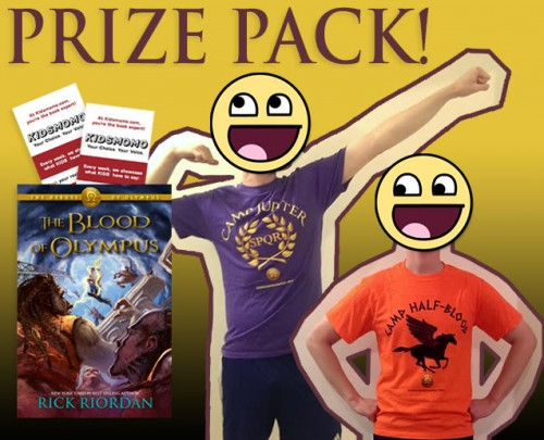 Blood of Olympus Sweepstakes Prizepack