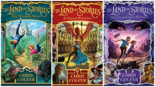 Land of Stories Books 1-3