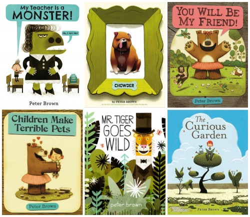 PeterBrown_PictureBooks