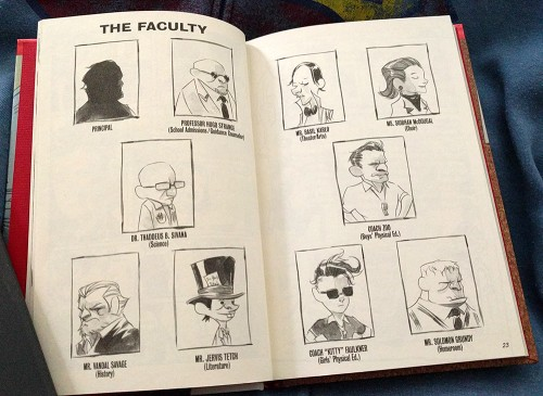 The faculty at Ducard Academy is a shady bunch.
