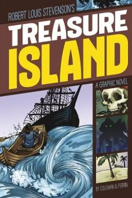 Treasure Island graphic novel_Robert Louis Stevenson
