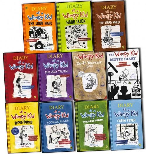 Wimpy Kid Series 1-9