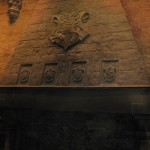 Hogwarts Crest above the fireplace!