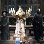 Costumes for three brave Hogwarts professors.