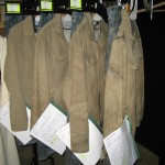 The many costumes of Harry Potter, in varying states of dirtiness.