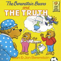 This is the Berenstain Bears book I remember most from when I was a kid. Now you know why I'm so trustworthy! Always listen to Karen...