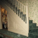 Harry's cupboard/bedroom under the stairs!
