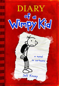 Diary of a Wimpy Kid (the book!) by Jeff Kinney