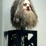 A stand-in for Hagrid's head.