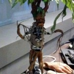 The robot body of a Mandrake.