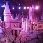 Model of Hogwarts, which was used in the movie for some exterior shots!