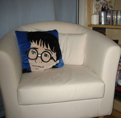 Yes, I'm a grown woman with a Harry Potter decorative pillow. What of it?
