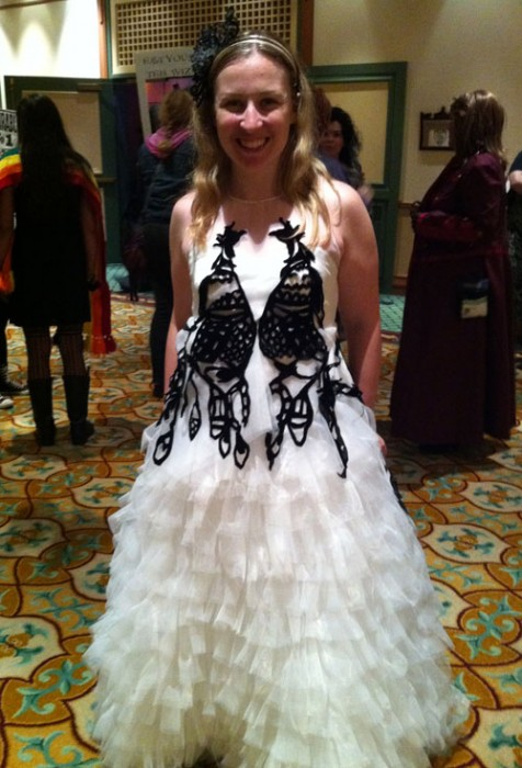 Fleur Delacour at the Esther Earl Charity Ball, LeakyCon 2011