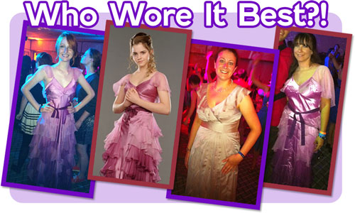 Who Wore it Best? Hermione at the Esther Earl Charity Ball, LeakyCon 2011