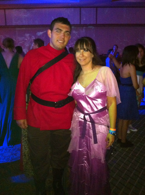 Viktor Krum and Hermione at the Esther Earl Charity Ball, LeakyCon 2011