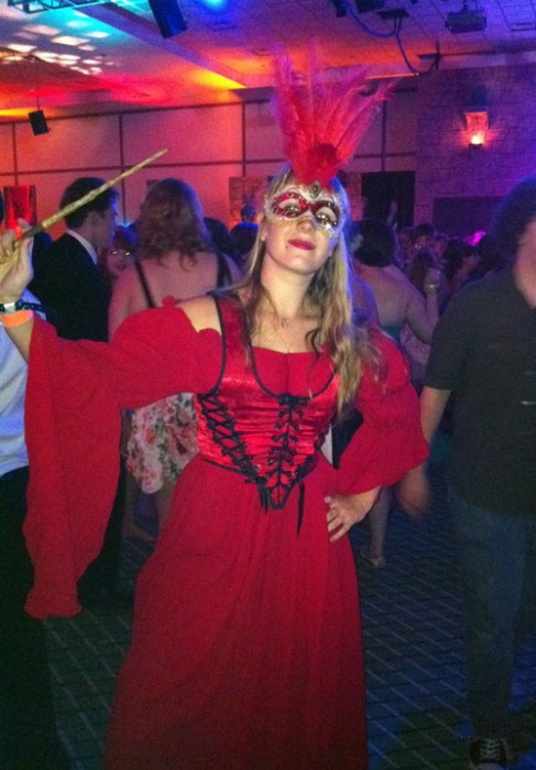 A costumed witch at the Esther Earl Charity Ball, LeakyCon 2011