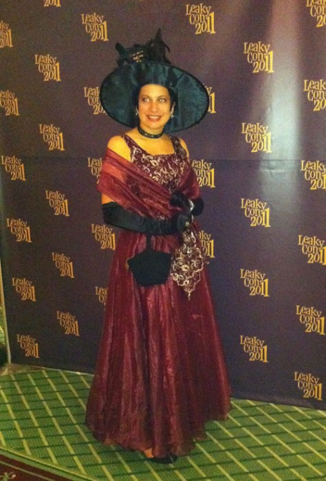 A witch attends the Esther Earl Charity Ball, LeakyCon 2011