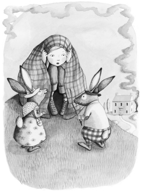 madeline-meets-bunnys