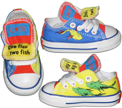 One Fish Two Fish Red Converse Blue Converse