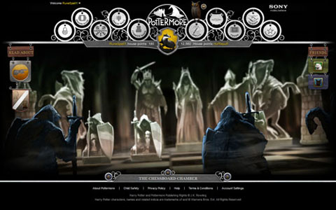 Pottermore: Chessboard Chamber