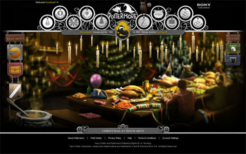 Pottermore - Christmas at Hogwarts
