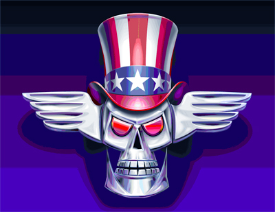 patriotic-skull